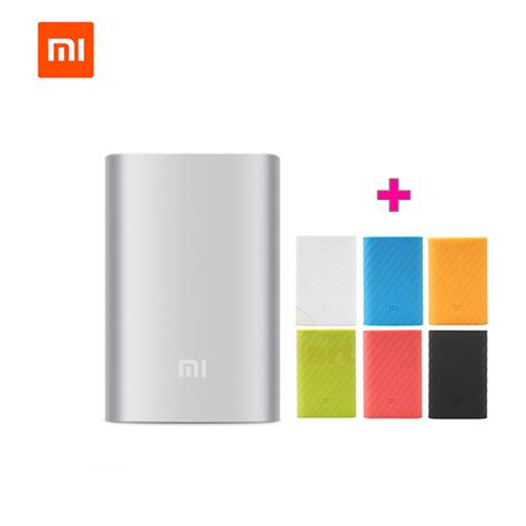 Xiaomi Power Bank 10000mah Mi Power Bank 100 Original 100 original xiaomi mi power bank 10000mah mobile phone power bank external battery xiaomi