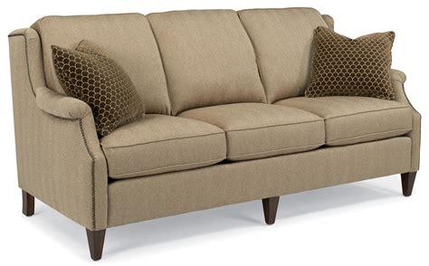 sofa mart st george utah flexsteel zevon transitional sofa with slender english