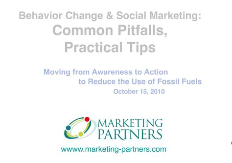 get it together cultural and practical tips to be a successful books behavior change and social marketing pitfalls and tips