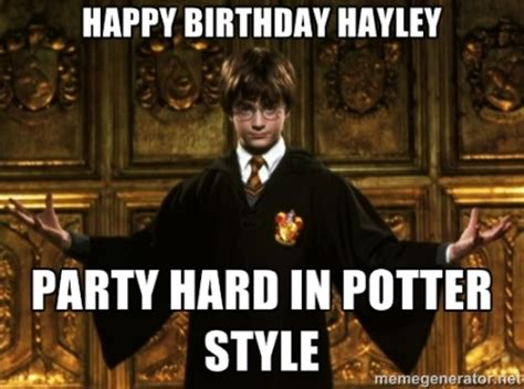 Harry Potter Happy Birthday Meme - harry potter funny happy birthday meme 2happybirthday