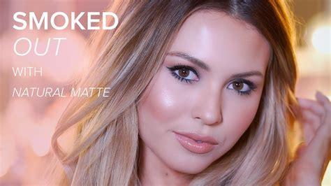 blush makeup natural tutorial too faced natural matte eyeshadow palette smokey eye