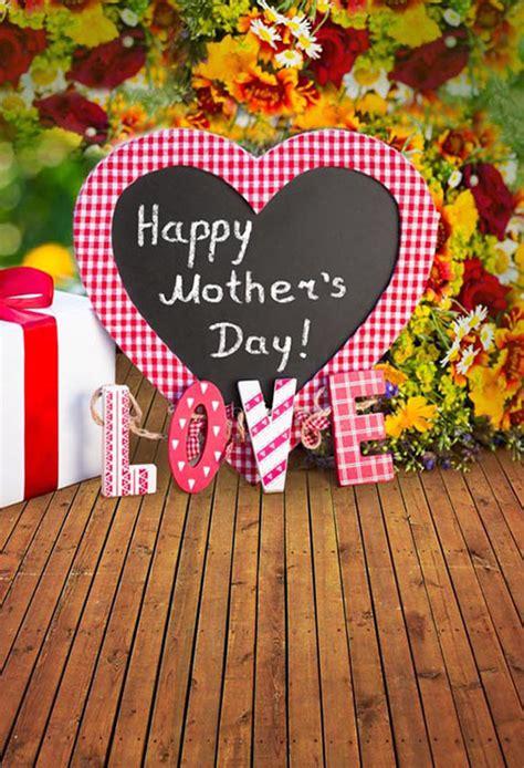happy mothers day theme thin vinyl photography backdrop