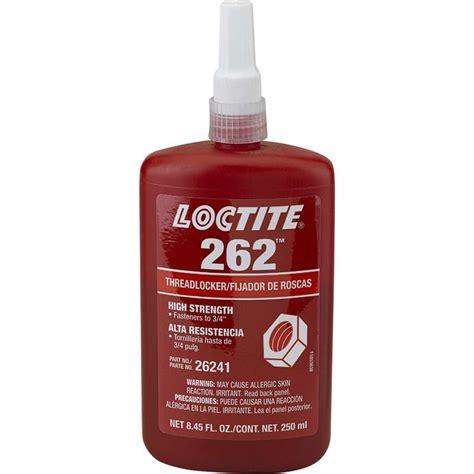 Loctite 262 Threadlocker Medium High Strength Locteti 26241 loctite 262 threadlocker medium to high strength 250ml