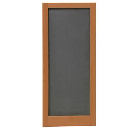 shop screen tight meadow redwood wood screen door common