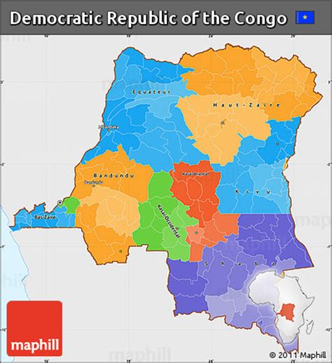political map of the republic free political simple map of democratic republic of the