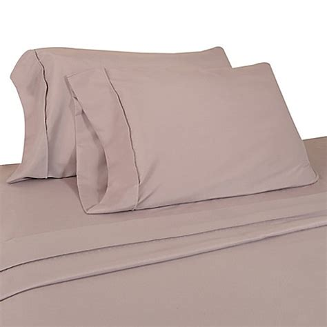 buy micro lush microfiber sheet set in lilac from