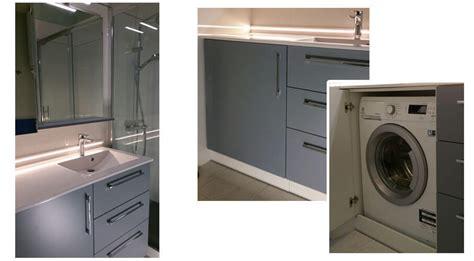 Superbe Meuble Salle De Bain Lave Linge Integre #2: lave-linge-dans-salle-de-bains.jpg