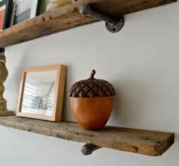Diy Industrial Lamp Cool diy barn wood shelves