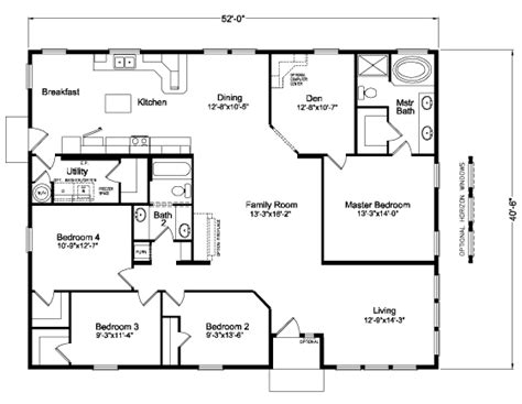 the mt 5v452e9 home floor plan manufactured and