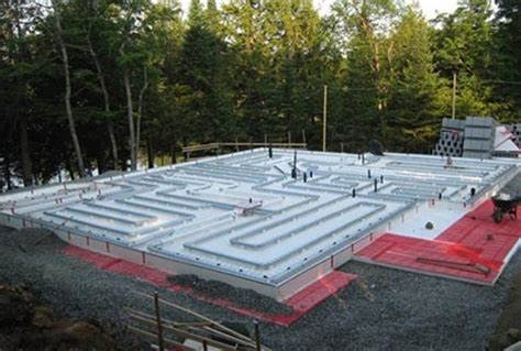 geo slab frost protected shallow foundations + radiant