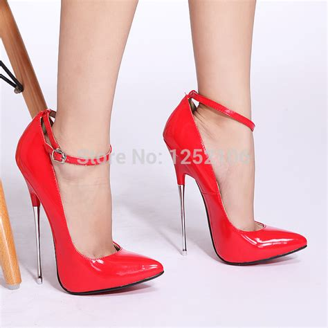 High Heel Afr2301 New Arrival 2014 new arrival pu high heel 16cm high