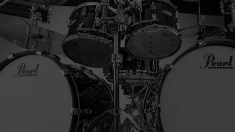 P C Black Pear Sho home pearl drums