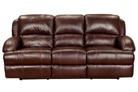 Power Leather Recliner Sofa Malta Leather Power Reclining Sofa At Gardner White