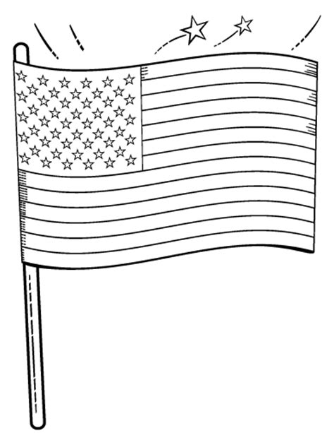 printable american flag 8 5 x 11 free american flag coloring page