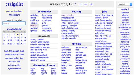 craigslist dc housing five alternatives to craigslist where to rent in d c