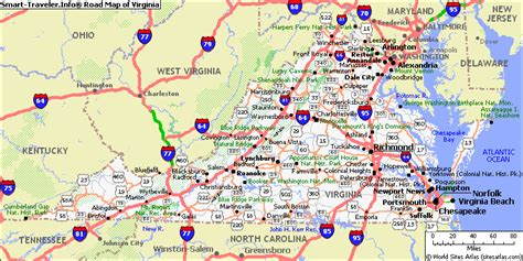 map or virginia virginia map virginia is for travelquaz