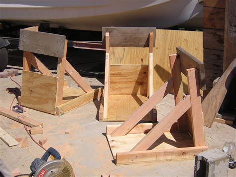 wooden boat stands plans fiberglassics 174 outboard motor stand plans