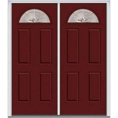 Double Door Front Doors Exterior Doors The Home Depot Home Depot Doors Exterior Steel