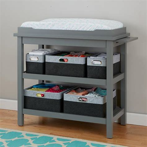 Grey Changing Table by Change It Up Changing Table Grey The Land Of Nod