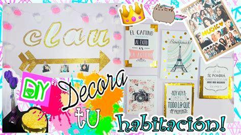 decorar tu cuarto tumblr diy decora tu habitacion tumblr
