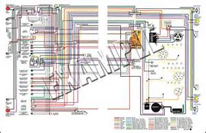 1969 plymouth belvedere satellite road runner gtx 11 x 17 color wiring diagram