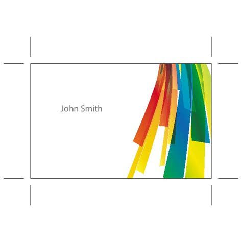 adobe illustrator flash card template business card ai template at vectorportal