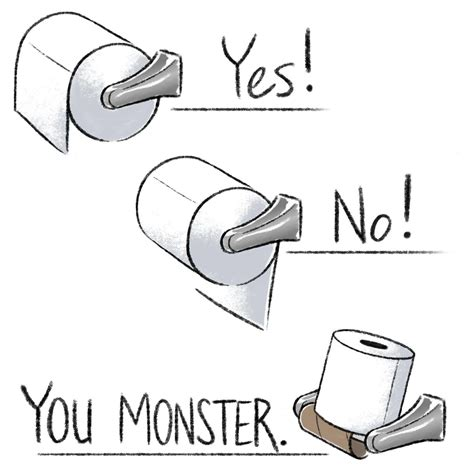 Toilet Paper Proper Way by There Is A Right Way To Hang Toilet Paper According To