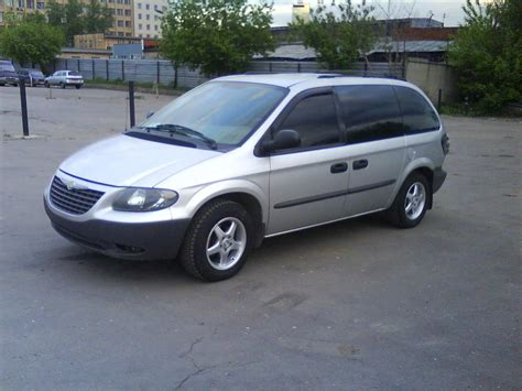 2003 Chrysler Minivan by 2003 Chrysler Minivan Upcomingcarshq