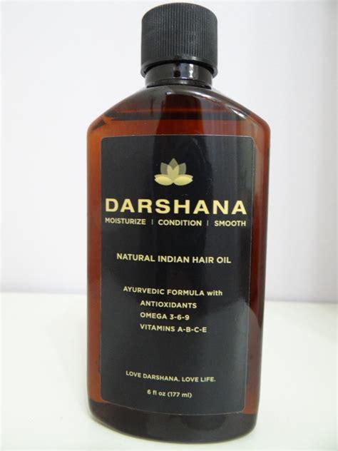 darshana natural indian hair oil beauty  fashion tech