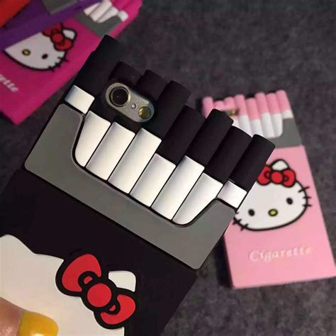 3d Hk Hello Hellokitty Soft Cover Casing Samsung Galaxy J5 hello 3d cigaret silicone kills cigarette phone for iphone 5 5s 6 6plus