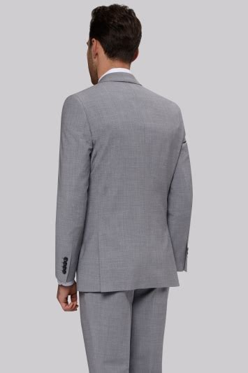 Jaket 2 In 1 Dc Light Gray moss 1851 performance tailored fit light grey jacket