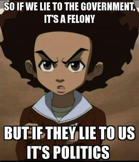 Boondocks Memes - boondocks black art etc pinterest knowledge truths