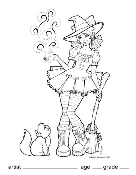 deviantart coloring pages wicked wendy coloring page by brigidashwood on deviantart