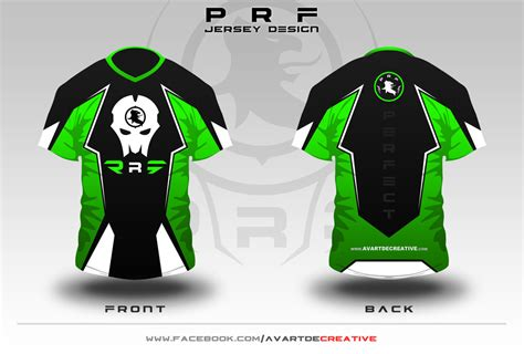 Club Shirt Putih e sport jersey team design by avartdecreative on deviantart