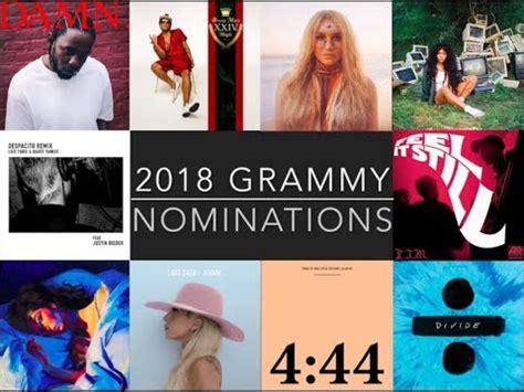 lista completa nominados grammy 2017 noticias de espect 225 culos de chismes lista completa de nominados a los premios grammy 2018 doovi