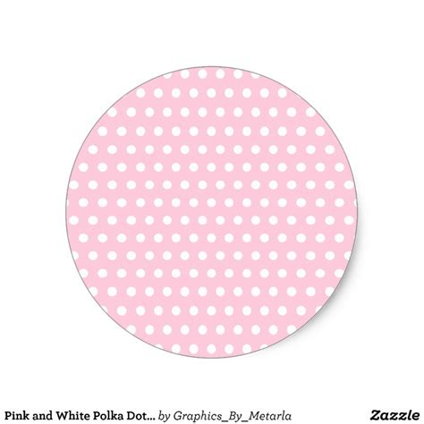 Tirai Polkadot Pink 100 200 pink and white polka dot pattern spotty classic