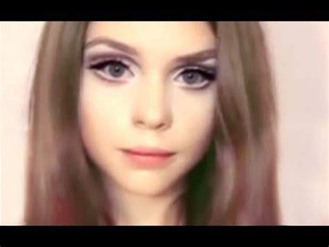 tutorial makeup barbie doll mw макияж куклы dakota rose dakotakoti barbie doll makeup