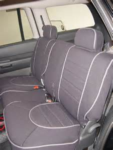 Dodge Durango Seat Covers Dodge Durango Pattern Seat Covers Rear Seats Okole