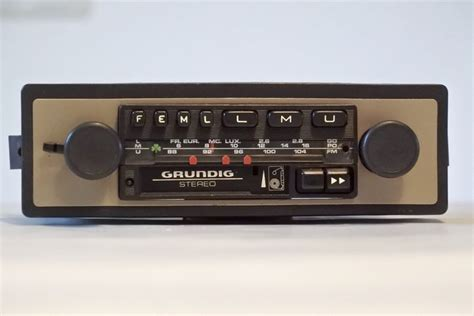 cassette car radio classic grundig wkc3022 car radio cassette player