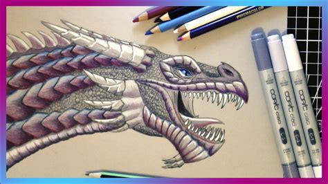 Ranch Designs by Pencil Amp Copic Marker Dragon Speed Art Swanstardesigns