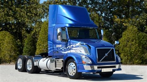 volvo trucks north america volvo trucks to run on dme in north america by 2015
