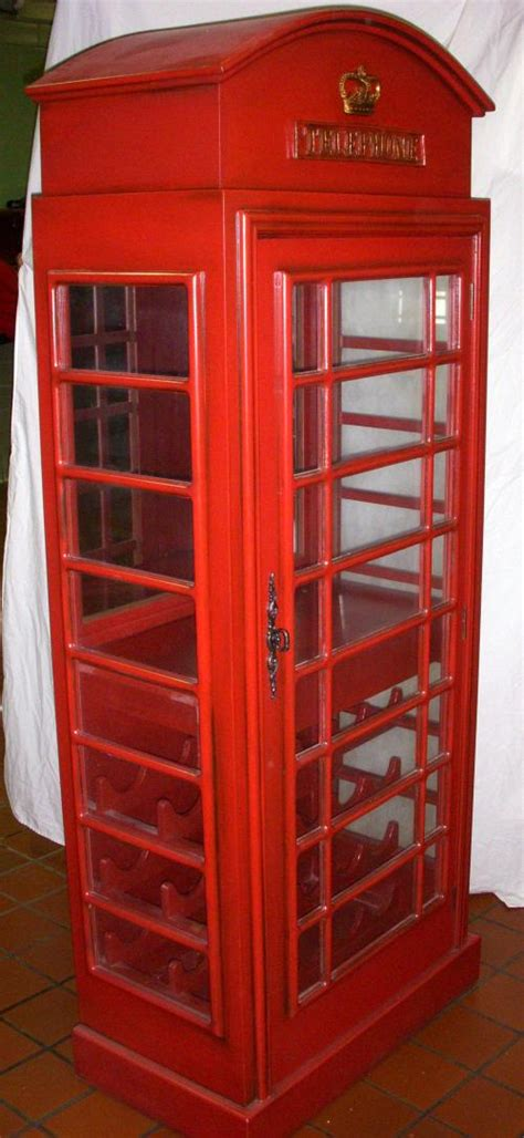 firemark distributors telephone booth wine cabinet twr