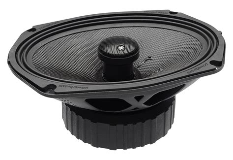 Speaker X9 powerbass 3xl 693 6 quot x9 quot range coaxial speakers with 3 ohm nominal impedance pwb14 3xl 693