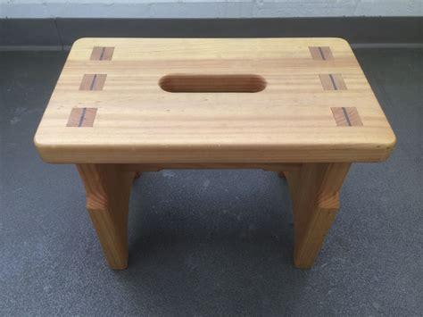 Custom Step Stool by Custom Mortise Tenon Step Stool By True Woodworks