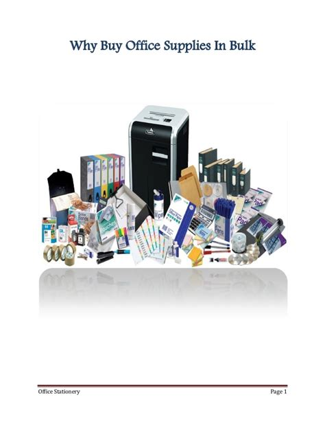 Office Supplies Bulk The Importance Of Up On Office Supplies