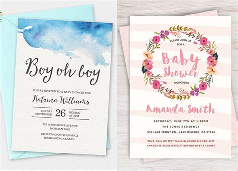 Baby Shower Invitations Printable by 100 Stunning Printable Baby Shower Invitations Momooze