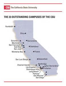 uc california map crafton college csu cus map