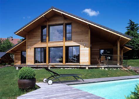 Construire Une Maison by Construire Une Maison En Bois Plus Cher Qu Une Maison