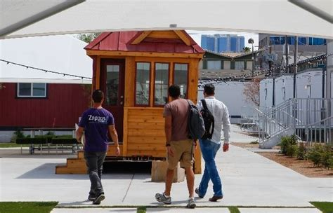 Small Homes Las Vegas Tiny Houses To Go Pop Up In Downtown Las Vegas