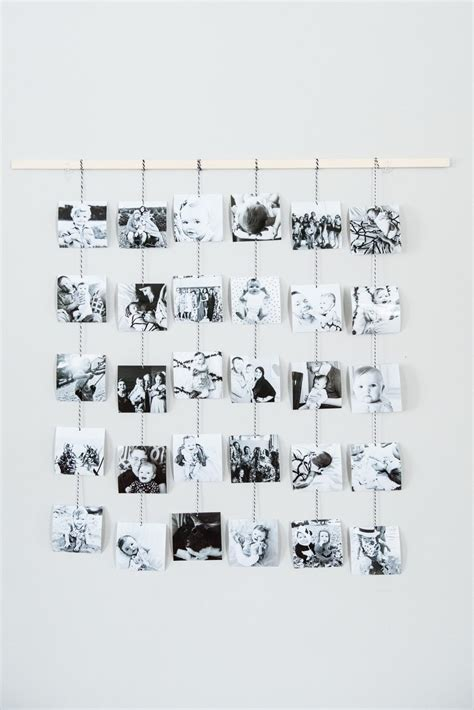 how to hang family photos diy family photo wall hanging the sweetest occasion